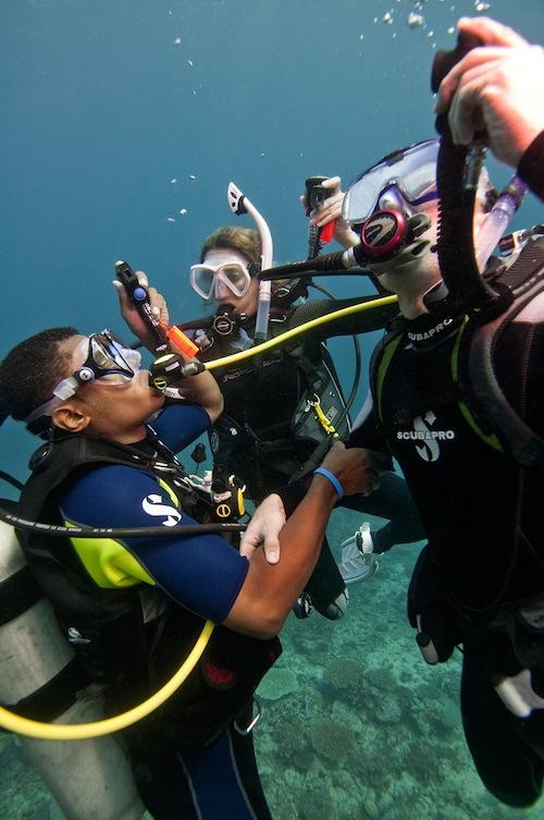 Leren duiken bij Cura Dive