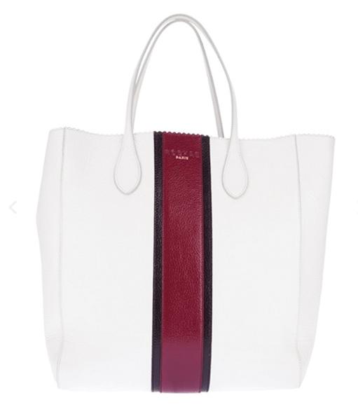 White Designer Tote Bag