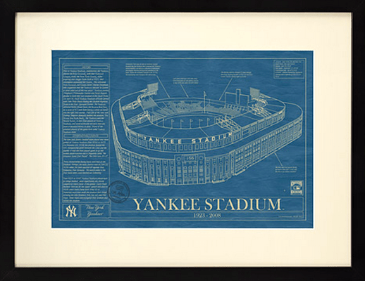 Ballpark Blueprint Yankee Stadium