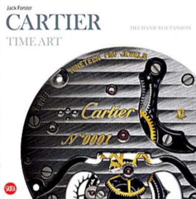 Cartier Book Time Art - Mechanics Of Passion