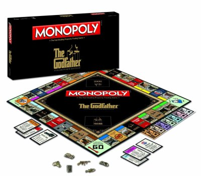 Monopoly The Godfathers Edition Board Game