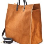 Clare Vivier Simple Tote Suede Bag   $316 FREE WORLDWIDE SHIPPING