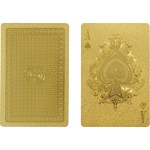 Unique Gold Playing Cards IDEA International $20 FREE SHIPPING