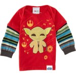 Cute Morf Boys Yoda T Shirt Long Sleeve $68 FREE US SHIPPING