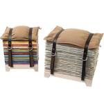 Cool Modern Magazine Rack NJU Studio Storage Stool  $200