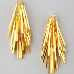 Unique Gold Stud Earrings Eddie Borgo Jewelry FREE SHIPPING