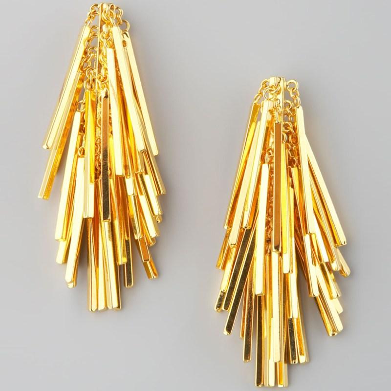 Unique Gold Stud Earrings Eddie Borgo Jewelry