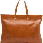 Large Brown Leather Messenger Bag – Clare Vivier $335 FREE SHIPPING
