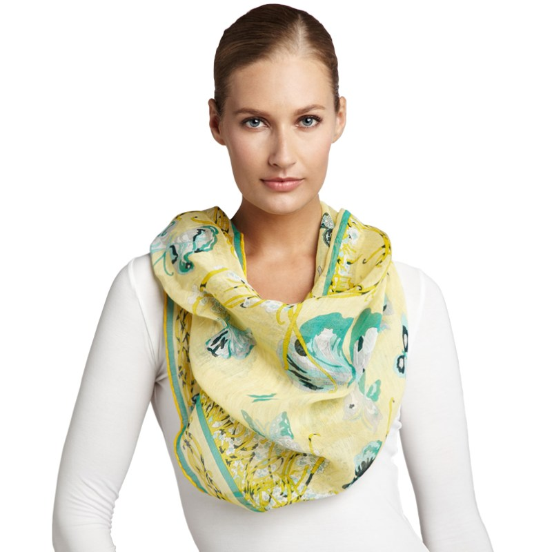 Emilio Pucci Accessories Papilio Butterfly Scarf