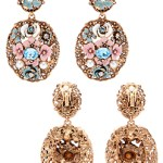 Oscar De La Renta Jewelry Modern Baroque Earrings