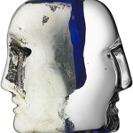 Modern Crystal Gifts Kosta Boda Brains Sculpture $225 FREE SHIPPING