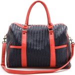 Chic & Stylish Deux Lux Eco Friendly Weekend Bag $245 FREE GLOBAL SHIPPING