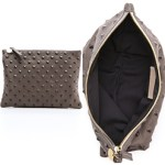 Clare Vivier Clutch Review Leather Studded Clutch Bag FREE GLOBAL SHIPPING