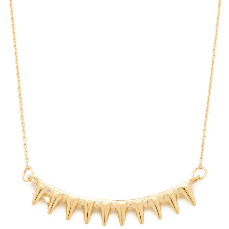 14k Gold Spike Necklace By Jules Smith Jewelry