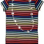 Sonia Rykiel Kids Girls Striped Summer Dress $162 FREE SHIPPING