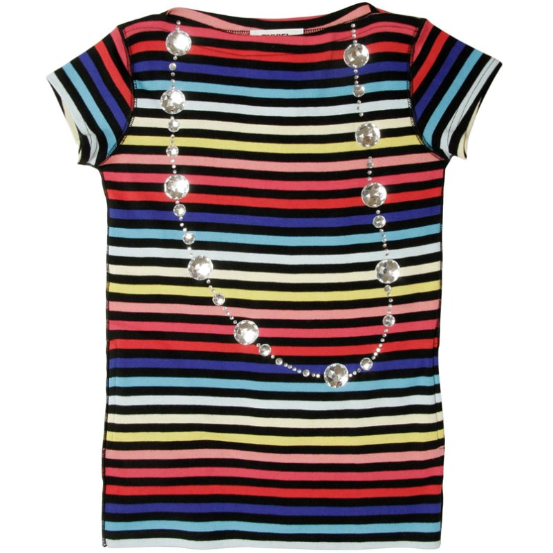 Sonia Rykiel Kids Girls Striped Summer Dress