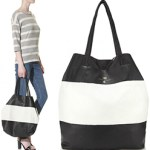 Black And White Striped Tote Bag – Day Birger Et Mikkelsen $227 FREE SHIPPING