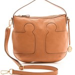 Tory Burch Brown Leather Hobo Tote Bag FREE WORLDWIDE SHIPPING