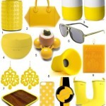 The Weekend What You Need: SUNNY YELLOW