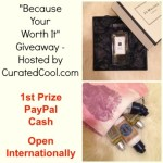 Because Your Worth It Giveaway
