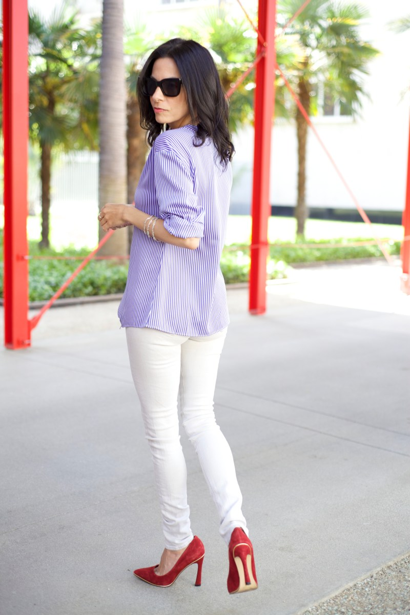 Styling Work Clothes To Wear On The Weekend