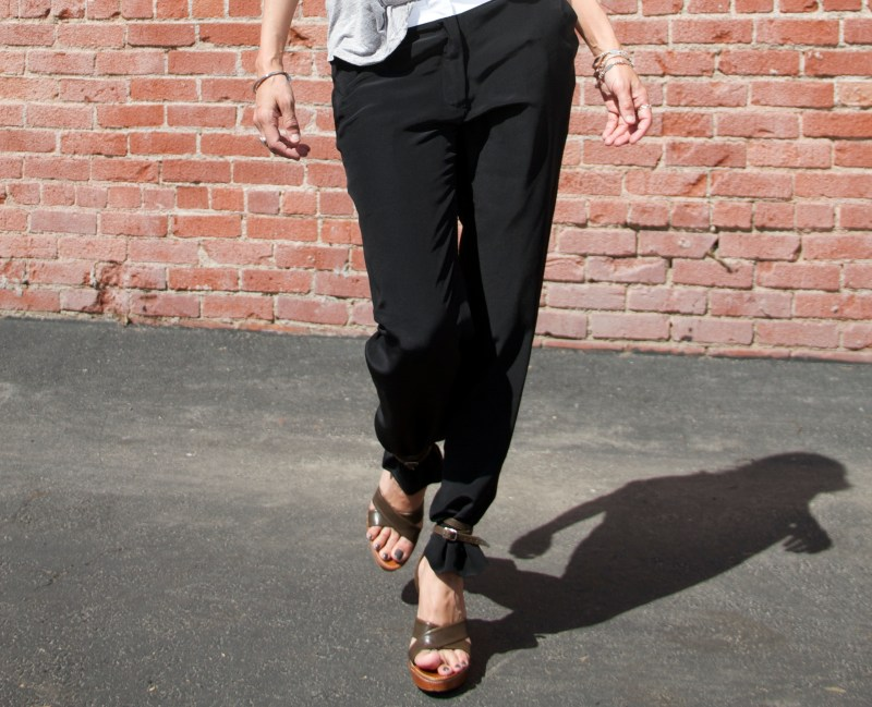 When Was The Last Time You Rocked Out In Womens Tuxedo Pants?