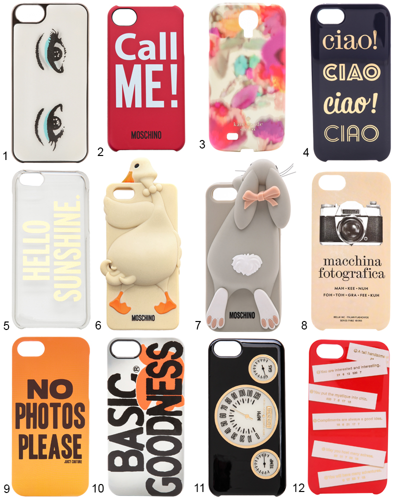 The Hit List - 12 Trendy Smartphone Cases