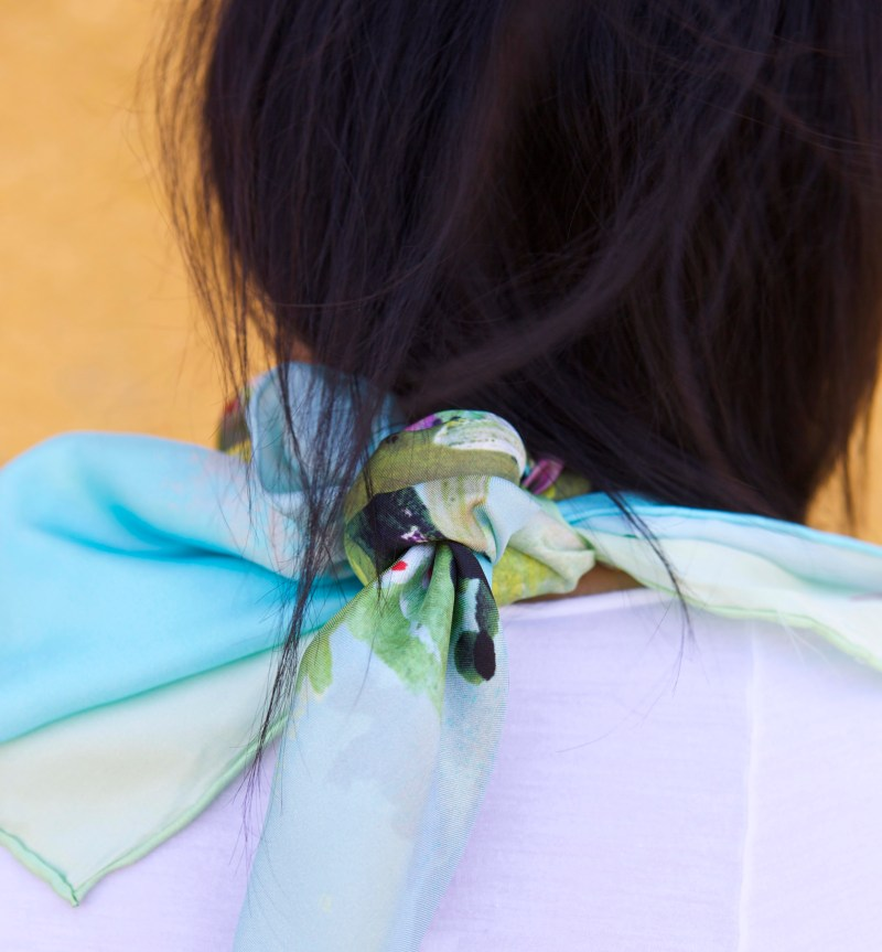 Why You Should Wear Art Inspired Scarves