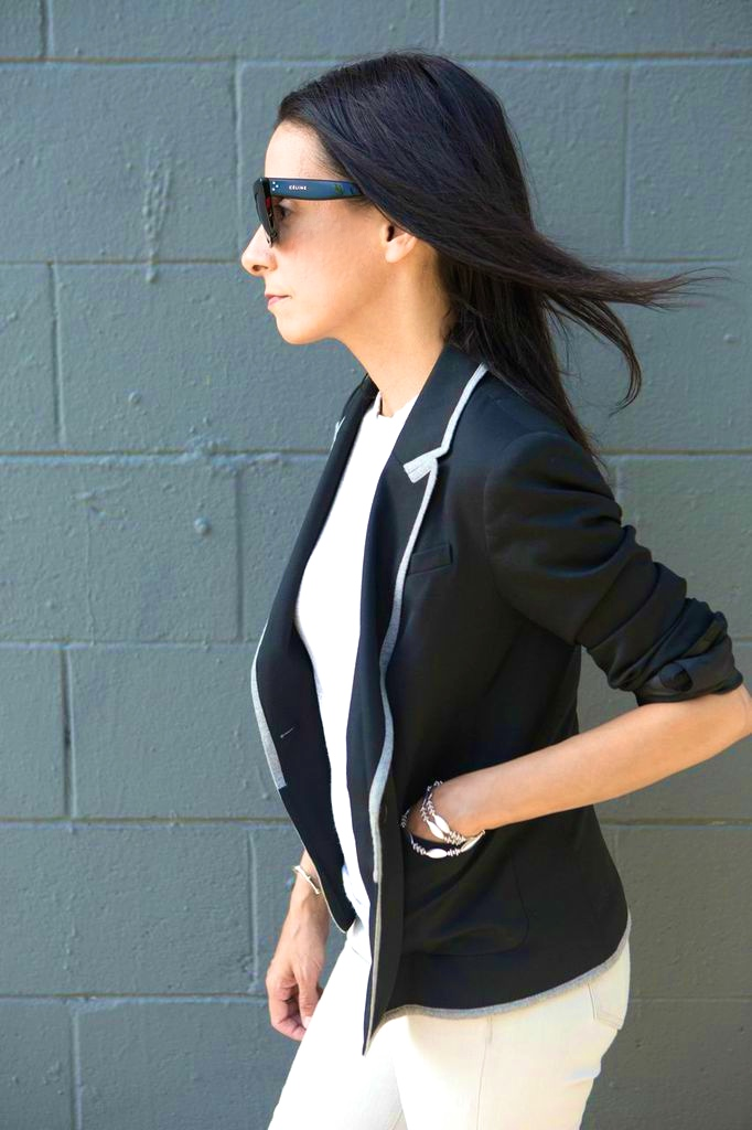 Pairing Navy And Grey - www.curatedcool.com