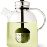 Designed By Menu – Clear Glass Teapot + Infuser