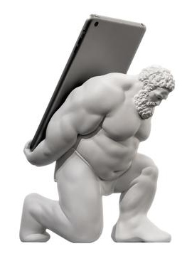 The Best Tablet Stand - Scott Eaton Hercules Stand