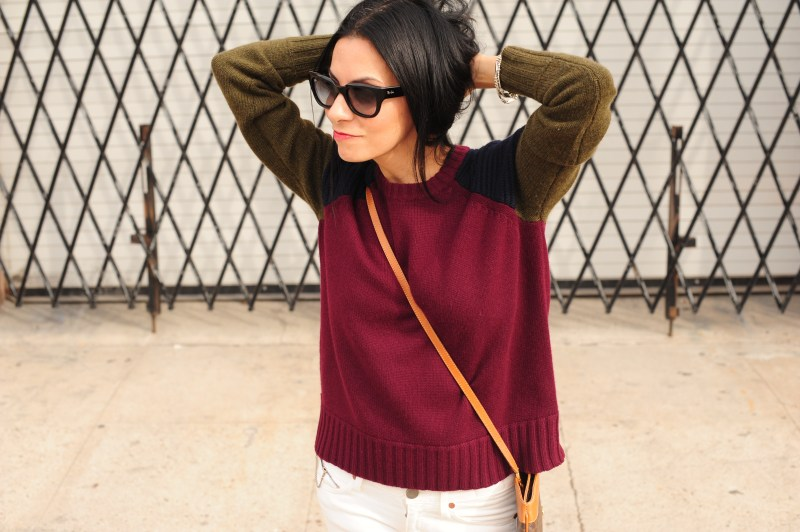 Mix Up Your Style - J Crew Cashmere Sweater