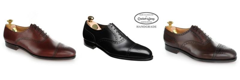 Crockett & Jones Shoes - The Semi Brogue Oxford Done Right