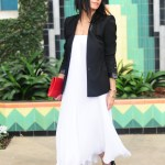 Need A Dress? Long Pleated Skirts Styled Another Way Here