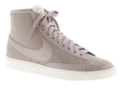 """Nike Leather Sneakers - Dubbed The """"Blazer"""" For A Reason"""