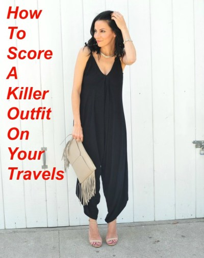 How To Score A Killer Outfit On Your Travels