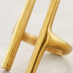 Cool Find Of The Day: Soko Modern Brass Bar Ring
