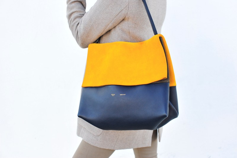 CELINE All Soft Tote Suede Pre Owned Luxury Bag