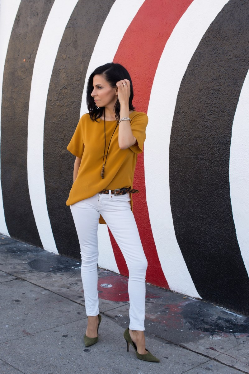 How To Style Mustard Yellow Color Tops