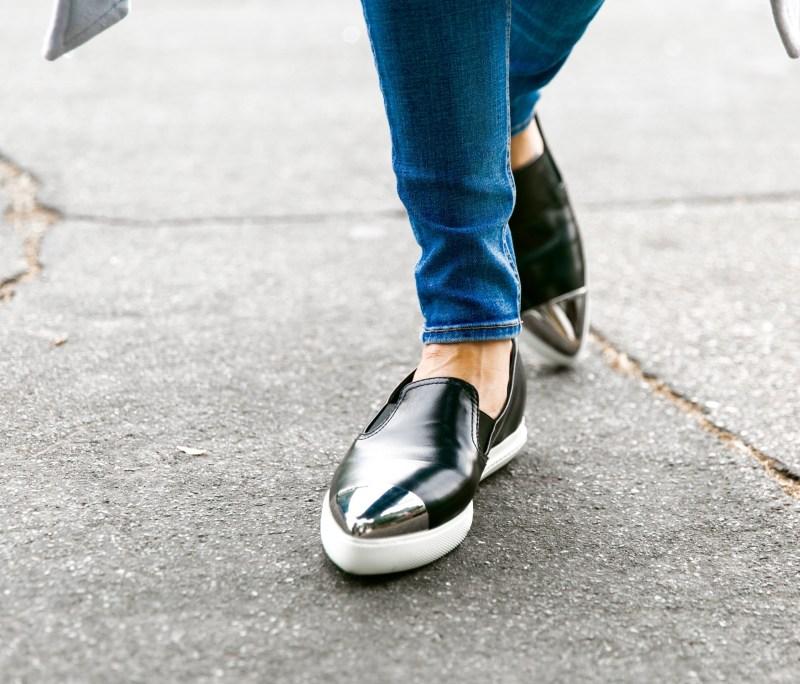 Miu Miu Pointed Toe Cap Sneakers
