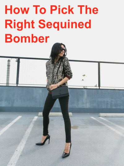 How to Pick the Right Sequined Bomber