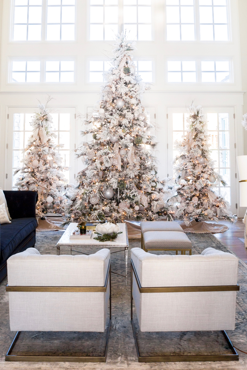 Winter White & Holiday Red | Two Christmas Decor Themes ...