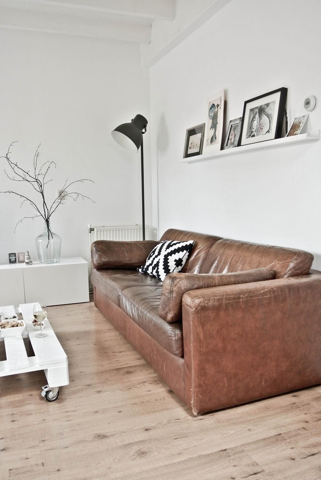 Brown Sofa Interior Design
