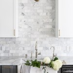 14 White Marble Kitchen Backsplash Ideas You Ll Love