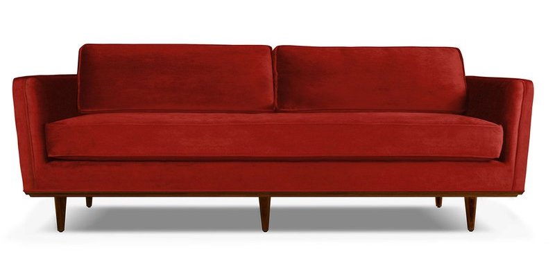 Cultura rm/steven lam/getty images buying a sofa is a major investment, and there is no rea. 12 Fabulous Red Sofas for Your Living Room