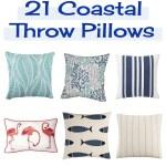 21 Coastal Throw Pillows Perfect For Your Beach Home