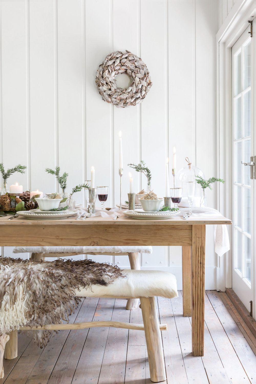 25 scandinavian christmas dining room