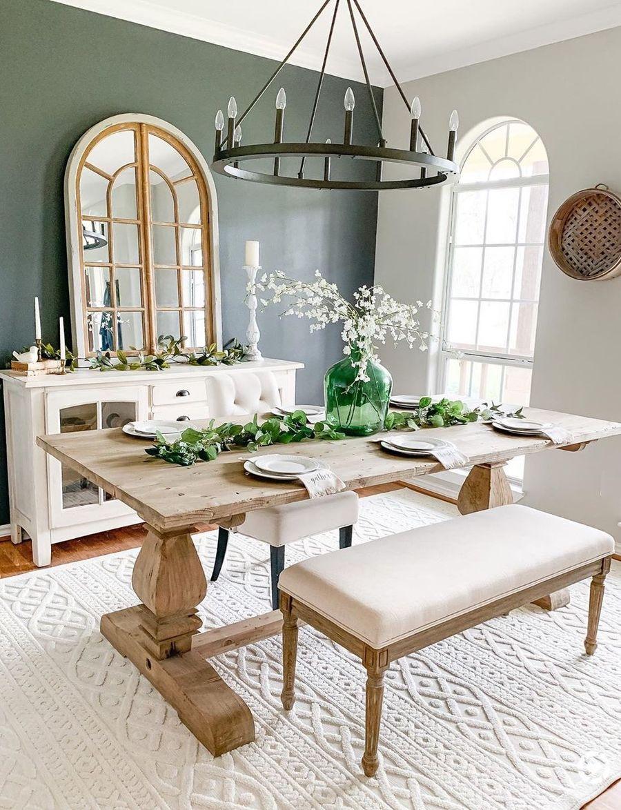 15 amazing farmhouse dining room decor