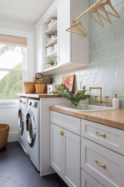 17 dreamy coastal laundry room decor ideas