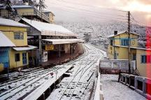 Shimla-Railway-Station-in-winters